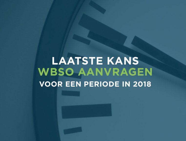 WBSO Reminder: Deadline WBSO aanvragen voor Q4 2018